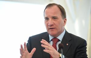 Statsminister Stefan Löfven (S). Foto: Erik Mårtensson/TT