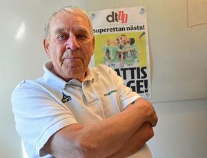 Evert Mellström ser tillbaka på ett halvt sekel i IK Brages tjänst – klubben i hans hjärta.