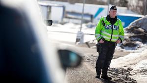 Erling Arvidsson, trafikpolis i Hudiksvall.