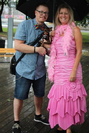 Under Pride ska man passa på att klä sig som man vill och vara som man vill, tycker Helene Wärve.