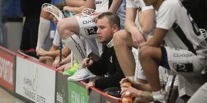 Andreas Asp var nöjd efter tunga segern mot Gimonäs. På söndag väntar Gamla Stan för FBC Bollnäs.