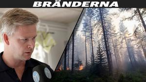 Samtliga bebyggda fastigheter i brandområdet är inventerade från luften, berättade restvärdeledare Robert Nilsson.
