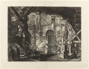 Sextonde gravyren i Giovanni Battista Piranesis serie