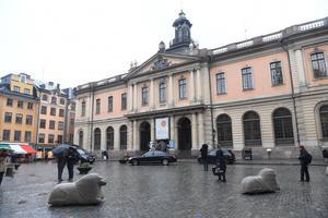 Foto: Fredrik Sandberg/TTPå fredagen kom beskedet:  Nobelpriset i litteratur delas inte ut i år.
