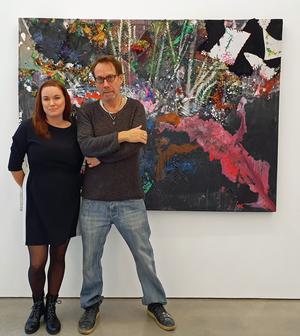 Rebecka Eriksson och James Bates