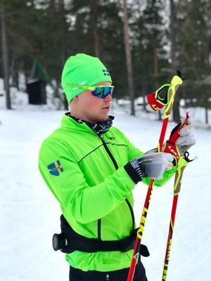 Filip Danielsson gjorde comeback på torsdagen, över två månader efter sin senaste tävling. Arkivfoto