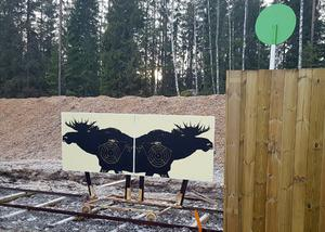 Nu är skjutbanan i Järnboås godkänd och klar. Bild: Bergslagens Sparbank