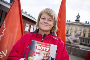 Ulla Andersson, ekonomisk-politisk talesperson Vänsterpartiet.