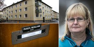 Fotomontage: Mikael Hellsten. Skadliga brevinkast gör snart att 21 hushåll ej längre får posten hemburen.