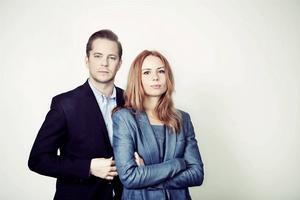 Anders Rydell och Michaela Möller.