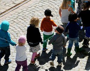 Ökning av barn per avdelning på fritidshemmen.