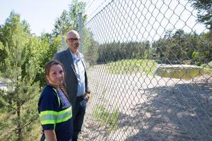 På Malmsjöåsens topp finns 15 infiltrationsdammar, dit vattnet från Mälaren pumpas upp. Härifrån tar det från ett par veckor till ett par månader innan vattnet når uttagsbrunnarna, varifrån det pumpas till Djupdals vattenverk.