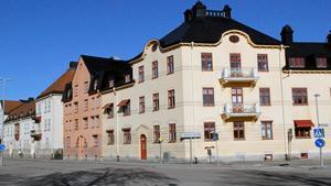 Hus i Vasastaden, strax intill Oxbackens centrum.