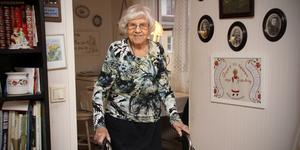 Pigga Lisa Karlsson fyller 106 år den 29 november.
