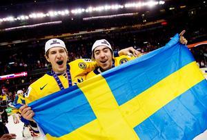 Äntligen. 2012 kom så det efterlängtade guldet, där Sverige som i sagorna lyckades slå Ryssland efter semifinalfiaskot året innan. Återigen var det de stora känslorna som stod i fokus. Bild: Joel Marklund/Bildbyrån