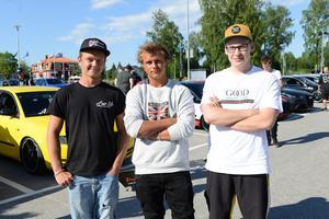 Claes Tullsäng, Daniel Andersson, Eric Michels.
