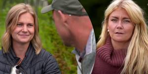 Det stod mellan Jonna Dahlin och Emelie Åström när Jimmy Olofsson skulle göra det sista avgörande valet. Men känslorna fanns bara för Emelie. Fotomontage: TV4