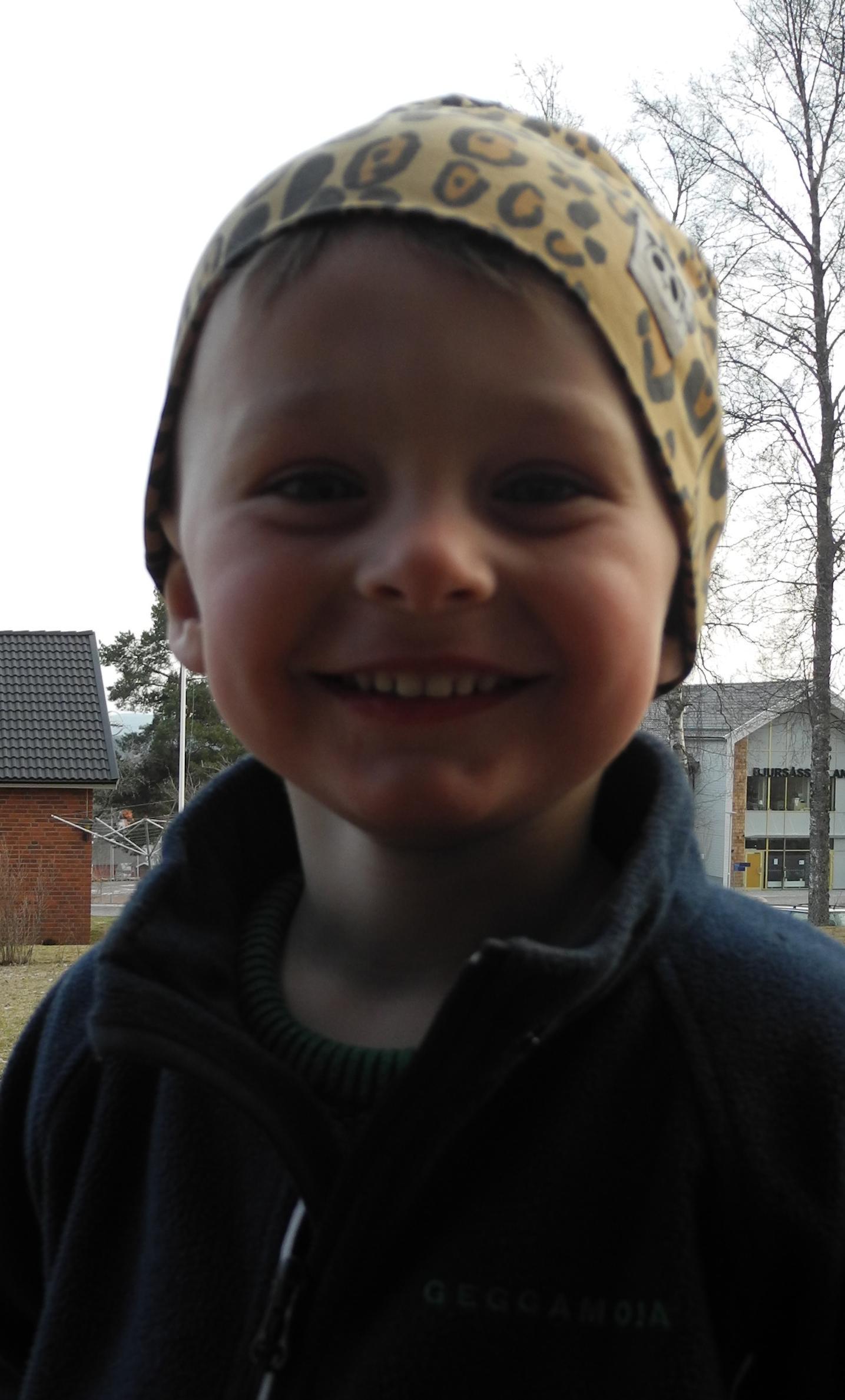 Ludvig, tre år.