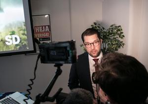 Jimmie Åkesson - partiledare (SD). /Arkivfoto