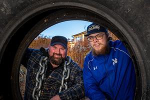 Dalecarlia Rebels har legat i dvala från 2015 fram till 2017, då man startade om igen med Per Axelsson vid rodret och Felix Tjernberg som  assisterande tränare. Foto: Bengt Pettersson