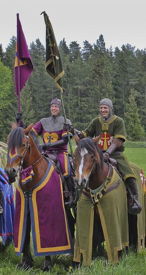 Gustav Norman tillsammans med kollegan och Arbogabon Jennifer Karning.