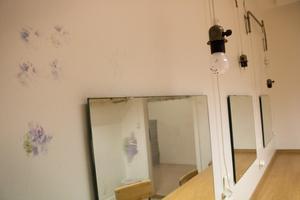 Logerna under aulan kommer också fräschas upp.