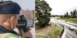 Polisen genomför extra hastighetskontroller.