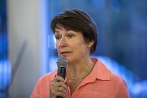 Birgitta Sacrédeus har varit aktiv för Kristdemokraterna i 33 år. Nu känner hon medvind, höga opinionssiffror och fler medlemmar.