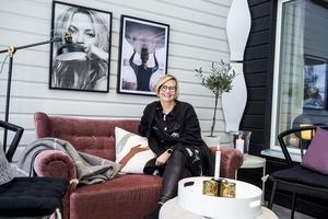 Inredning är ett stort intresse för Ulrika Mattisson.
