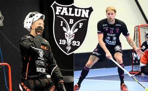 Emil Lilja och Adam Fernqvist.