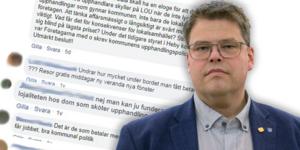 Kommentarer om upphandlingsenhetens kompetens och antydan till att det ligger mutor bakom upphandlingar har fått kommunalråd Anders Wigelsbo (C) att se rött.