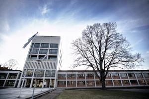 Sandvikens Stadshuset ritades av den då pensionerade stadsarkitekten i Gävle Sven H. Wranér.