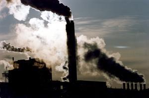 Industrin, inte minst skogsindustrin, kan förvänta sig krav på kraftiga åtgärder för att minska utsläppen av kväveoxider – det ska spara liv. Bild: Björn Larsson/TT
