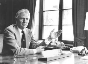 Lennart Ollén, Sandviks vd  1979–1983. Foto: Håkan Selén.