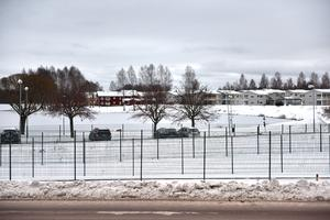 Det ser ut som ett fängelse, men Sven Lind har lösningen på säkerhetsanordningen.