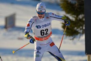 Filip Danielsson slutade på 55:e plats vid världscupdebuten i Lillehammer i december. Nu är han klar för U23-VM.Arkivfoto: Rolf Zetterberg