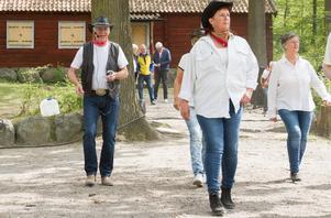 """Solveig Edlund tycker att line dance är en bra motion. """"Det är en roligt motion och du blir andfådd"""", säger Solveig Edlund."""