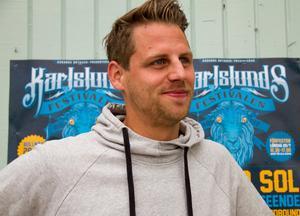 Andree Lundh, eventansvarig vid Rådanäs bryggeri.