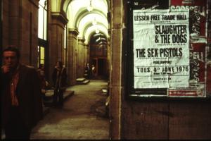 Den 4 juni 1976 spelade punkpionjärerna The Sex Pistols sin legendariska konsert på Lesser Free Trade Hall i Manchester. Foto: NonStop Entertainment