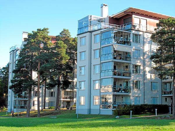 Tidigare byggda bostäder vid Öster Mälarstrand.