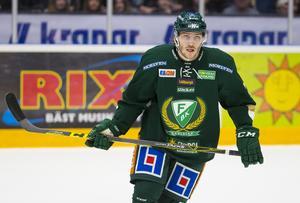 Johan Persson senast det begav sig i SHL för hans del. Det blev totalt 22 matcher för Färjestad innan han återvände till Timrå.