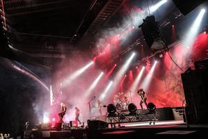 Hammerfall, kvällens andra konsert.