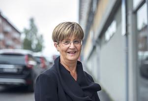 Anneli Bygdell, 60 år, pensionshandläggare, Sundsvall: