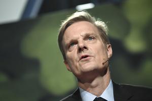 Swedbank, med vd Jens Henriksson, redovisar kvartalsrapport. Arkivbild.