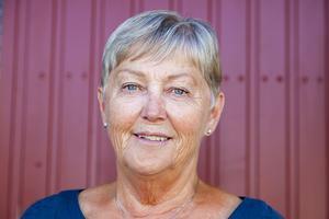 Lisbeth Olaussons favoritplats i Sveg är IP. Där har hon tillbringat mycket tid både som fotbollsledare och åskådare.