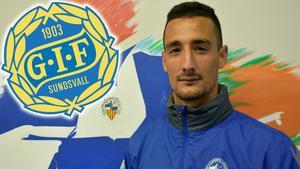 Pol Moreno spelar med Sabadell i Segunda B. Bild: Oskar Lund.