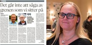 Hanna Westman, ordförande för Salas Bästa, skriver att partiet vill stödja lokala initiativ och samtidigt värna kommunens kärnuppdrag.
