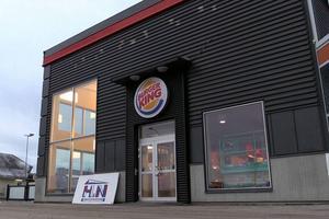 I början av december kunde Burger King öppna i Birsta.