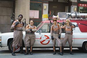 Leslie Jones, Melissa McCarthy, Kristen Wiig och Kate McKinnon spelar huvudrollerna i nya