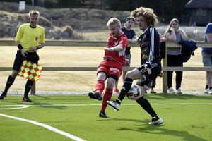 Oskar Lindmark assisterade till 1–0 målet på Olympia.